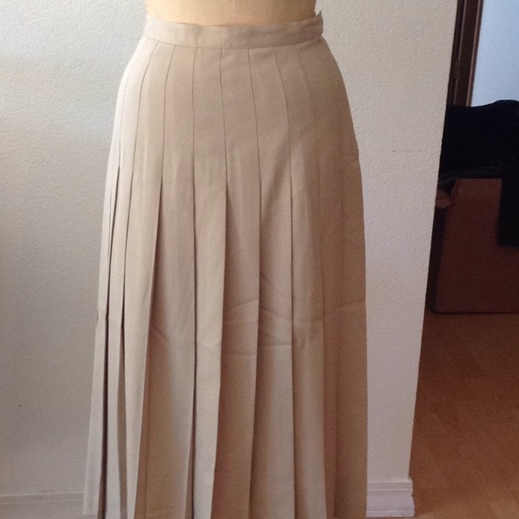 Clothing, Shoes & Accessories Ann Freedberg Pleated Black Skirt